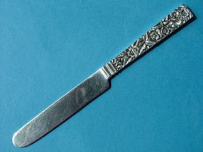 S. Kirk SQUARE REPOUSSE child's knife