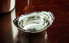 Shreve Silver Arts & Crafts Condiment Bowl