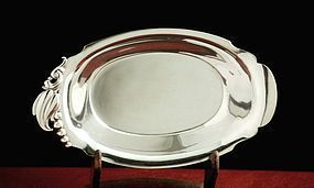 Sterling Silver Blossom Olives Bowl