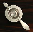 Art Deco Danish Silver  Tea Strainer
