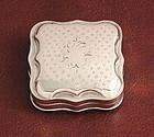 Antique Dutch Silver Snuff Box