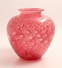 Steuben Gold Ruby Cluthra Vase