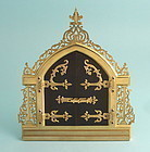 Victorian Bronze Photo Frame