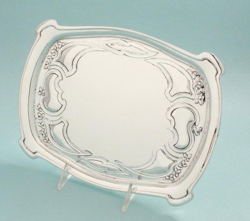 Art Nouveau Silver Tray