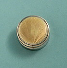 Art Deco Silver and Enamel Pill Box