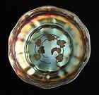 L.C. Tiffany Favrile Intaglio Cut Bowl