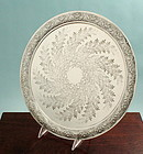Victorian Scottish Footed Salver