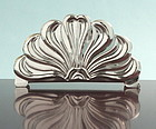 Art Nouveau Silver Letter Rack