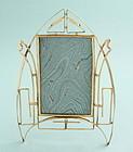 Art Nouveau Brass Photo Frame
