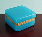 Blue Opaline Box