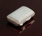 Art Deco Silver Snuff Box