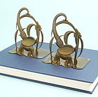 Hagenauer Elephant Bookends