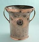 Copper and Brass Jugendstil Wine Cooler