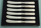 Mother-of-Pearl Butter Knives