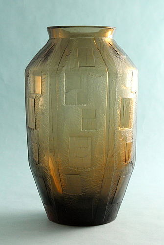 Daum Nancy Art Deco Vase