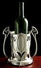 WMF Tall Art Nouveau Wine Bottle Stand
