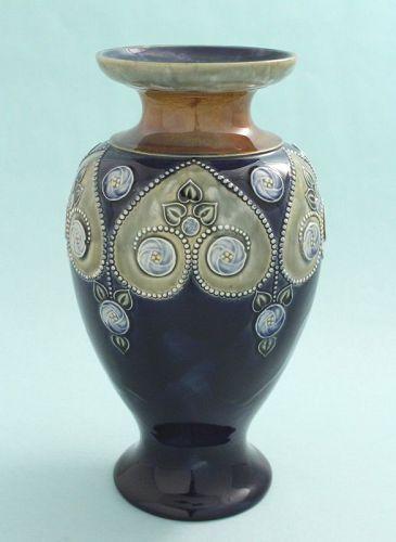Doulton Lambeth Art Nouveau Vase
