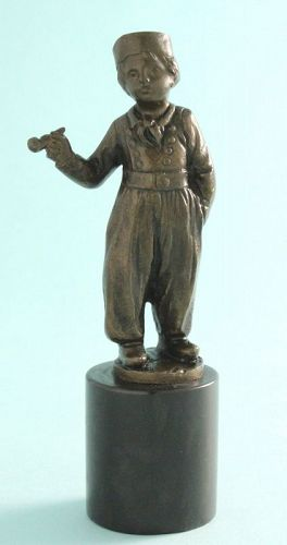 Hans Keck Bronze Dutch Boy