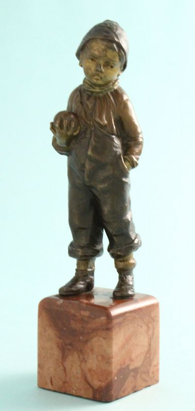 A. Titze Bronze, Boy with Apple