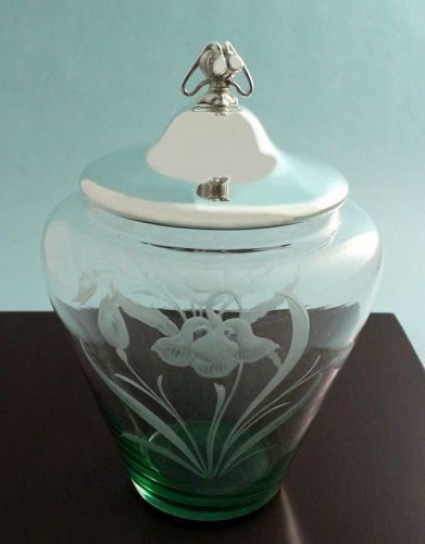 WMF Art Nouveau Biscuit Barrel