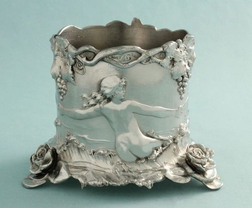 WMF Art Nouveau Sirens Bottle Stand