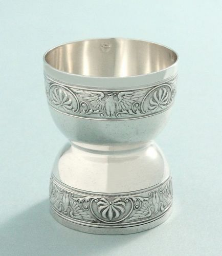 Antique French Silver Egg Cup