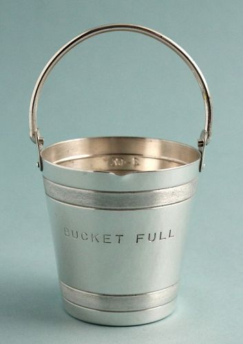"""Bucket Full"" Cocktail Jigger"