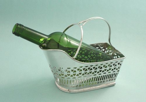 Antique Wine-Champagne Caddy