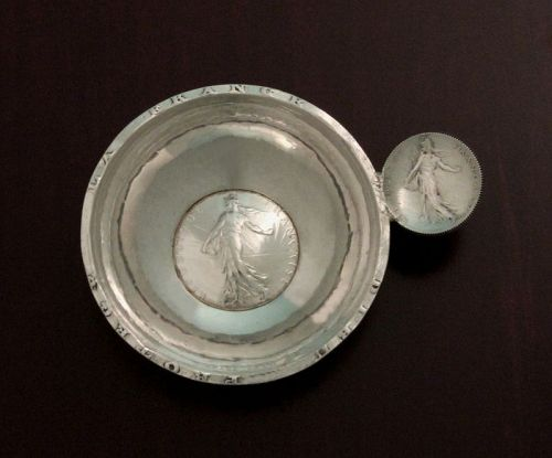 French Silver Tastevin
