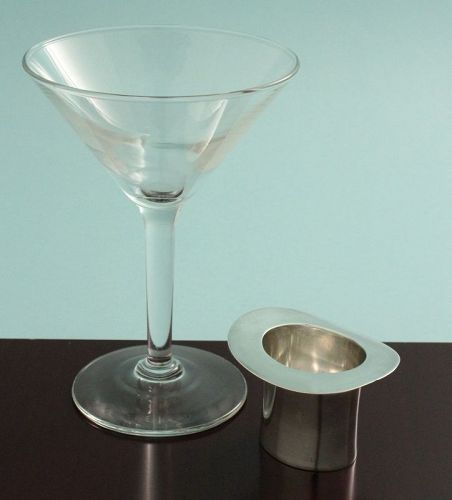 Sterling Silver Top Hat Jigger