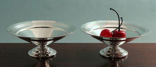 Keith Murray Art Deco Condiment Bowls