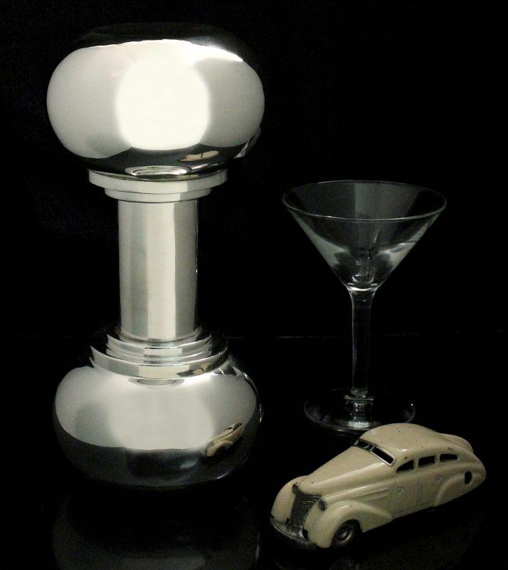 Asprey Dumbbell Cocktail Shaker