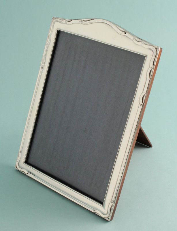 English Silver Photo Frame