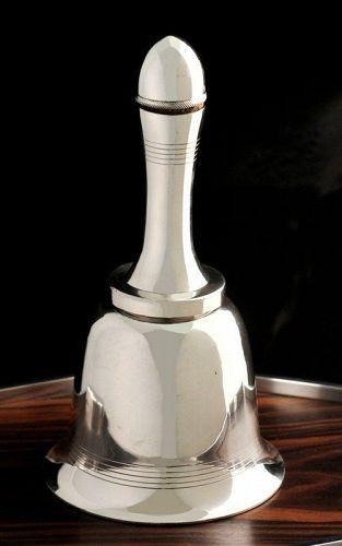 Asprey Figural Bell Cocktail Shaker