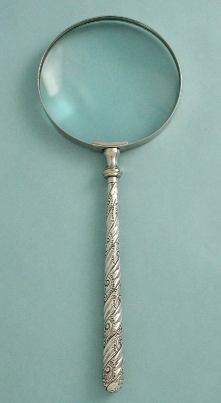 English Silver Magnifier