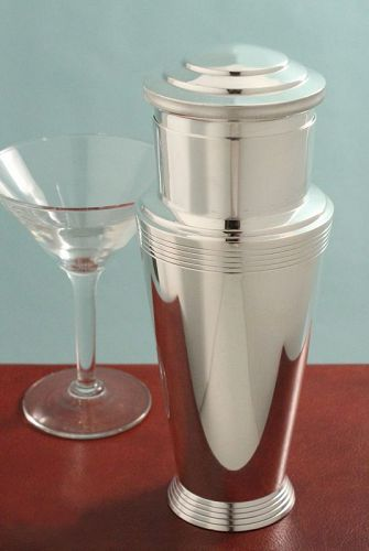 Keith Murray Art Deco Cocktail Shaker