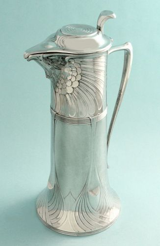 Orivit Art Nouveau Eagle Wine Jug