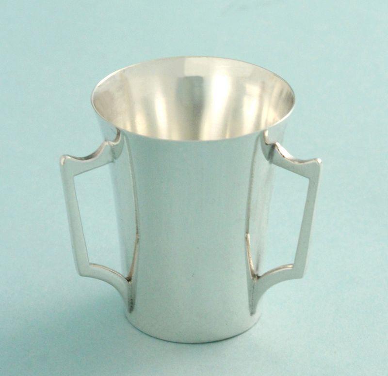 English Silver Tyg Shot Glass