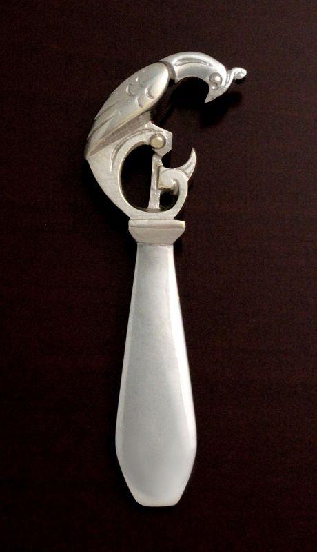 Andre Bizette Art Deco Bottle Opener
