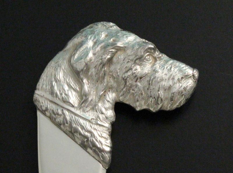 WMF Art Deco Dog Letter Opener