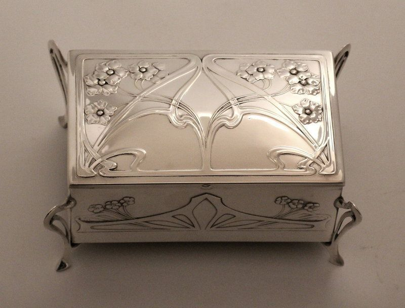 WMF Art Nouveau Jewel Casket