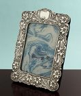 Art Nouveau Silver Photo Frame