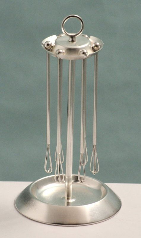 Art Deco Cocktail Whisks