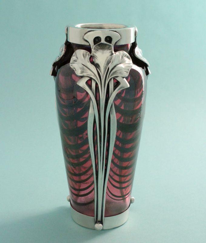 Moritz Hacker Art Nouveau Vase