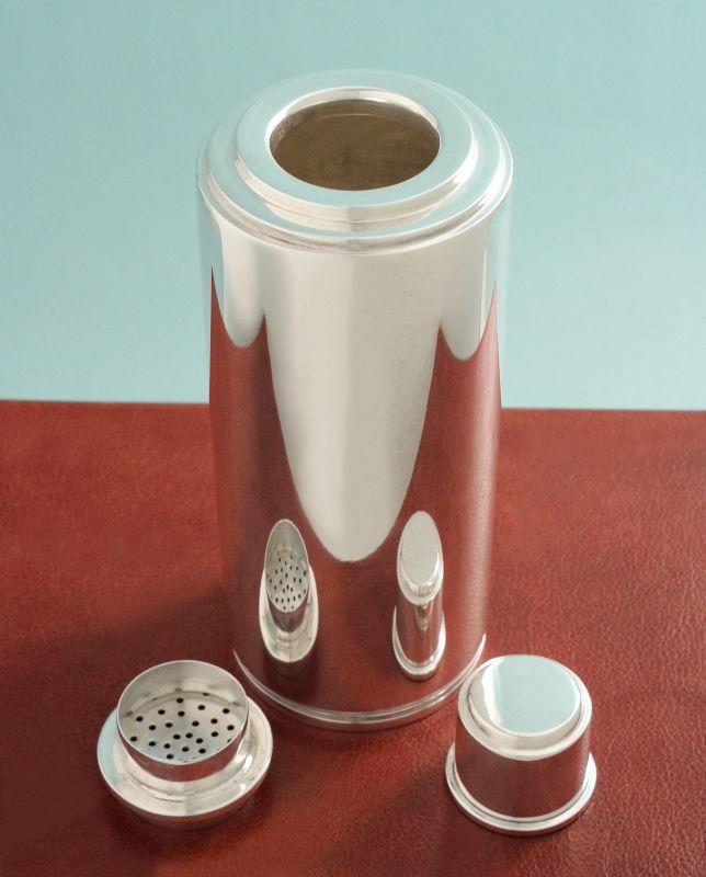 English Art Deco Cocktail Shaker