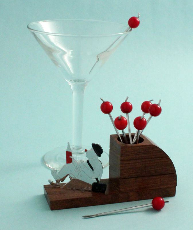 French Art Deco Cocktail Picks