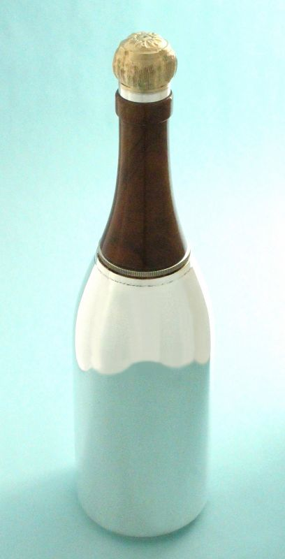 Rare Champagne Bottle Cocktail Shaker