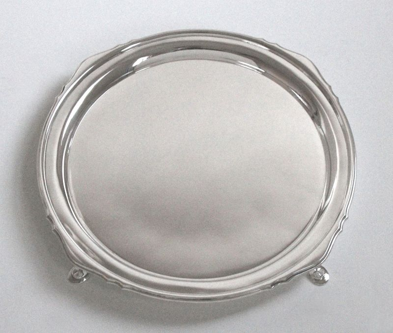 Mappin & Webb Art Deco Footed Tray