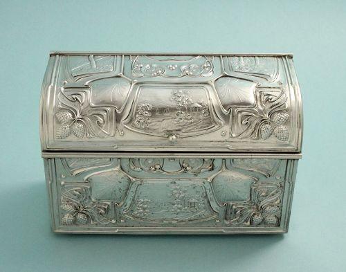 Art Nouveau Letters Box