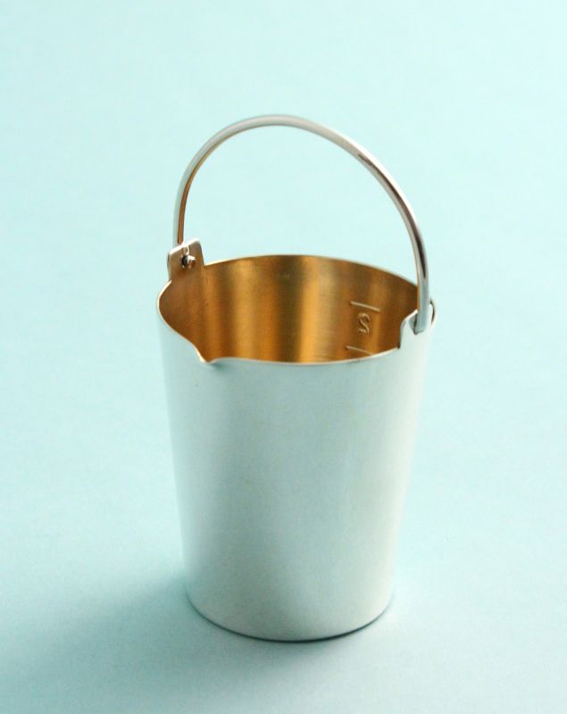Cartier Silver Bucket Jigger